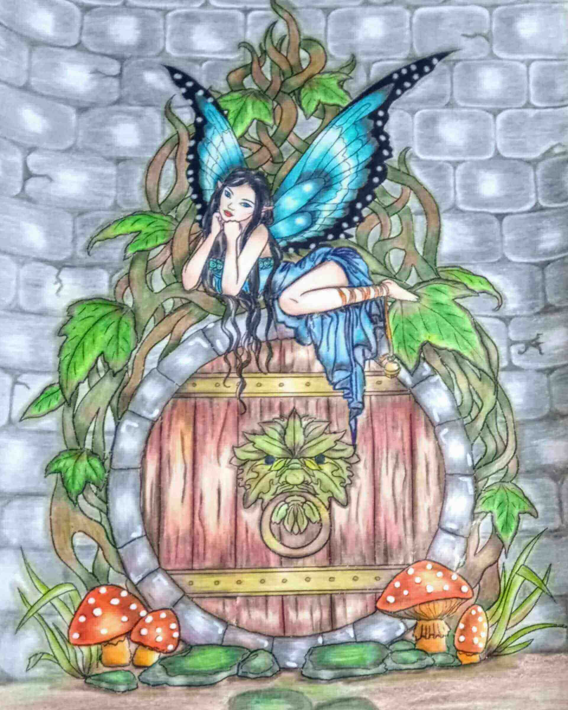 15 Daniela 34 Belo Horizonte MG Lapisde Cor Color Peps Castelo Johanna Basford2020