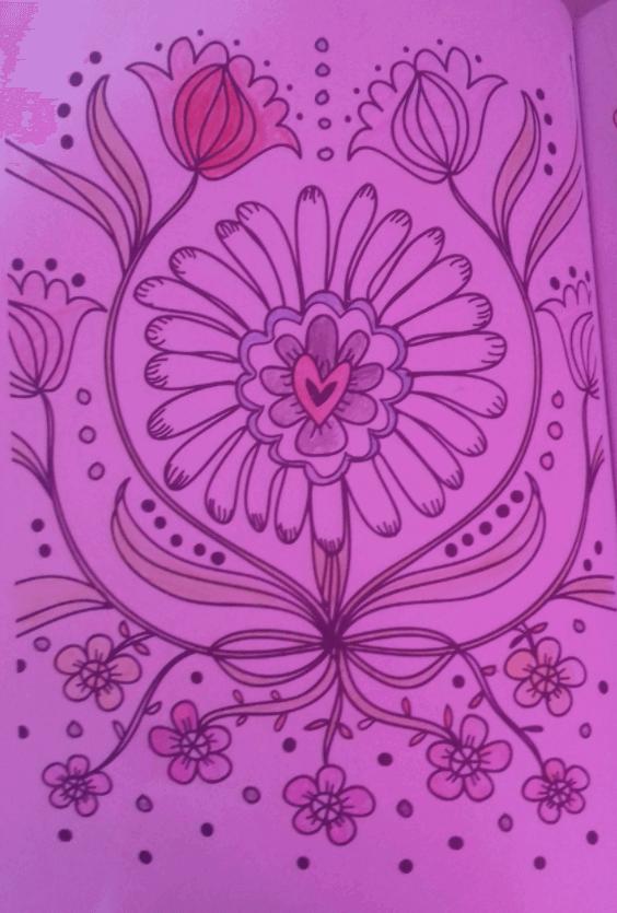 277 Ana Luiza 12 GO Lapisde Pintar Flor