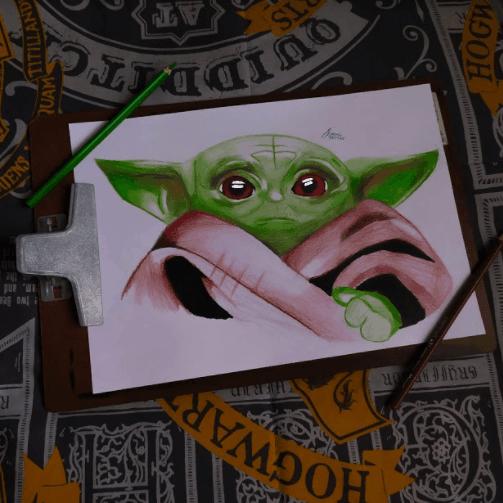 299 Alexandre 18 Ceilandia DF Lapisde Cor Maped Baby Yoda